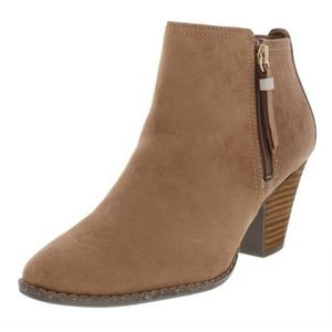 NWT Dr. Scholl's Cunning Faux Suede Heel Boot 11